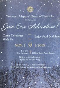 Vermont Adaptive's BOD Gala