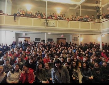 Speaking at Walter Parker School, Reading , MA