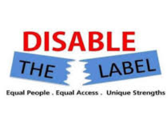 "Speaking at Umass Lowell for ""DISABLE THE LABEL"""