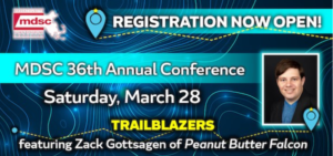 """Collette and Rosemary Q & A at MDSC """"Trailblazers"""" 36th Annual Conference"""